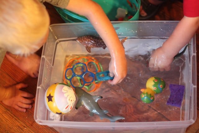 Try a float or sink experiment with your toddler!