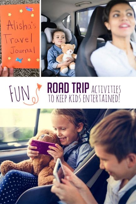 Have fun on your next family vacation with fun activities to keep kids entertained on road trips!