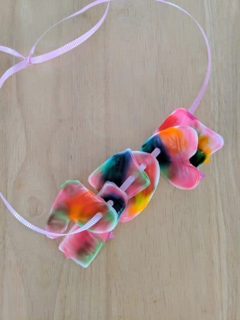 Make your own DIY Mother's Day gift - colorful, creative charm necklaces!