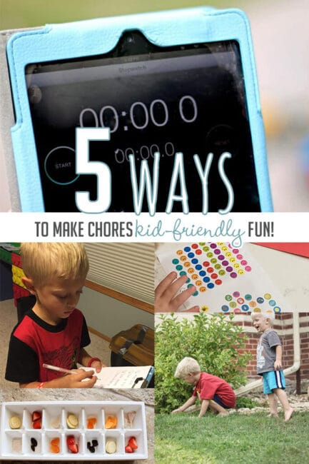 Make chores super kid-friendly with 5 simple tips for hands-on parents!