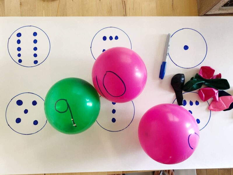 DIY a low-prep learning game that's perfect for preschoolers!