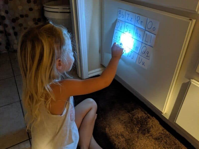 Shine a light on learning with an in the dark scavenger hunt!