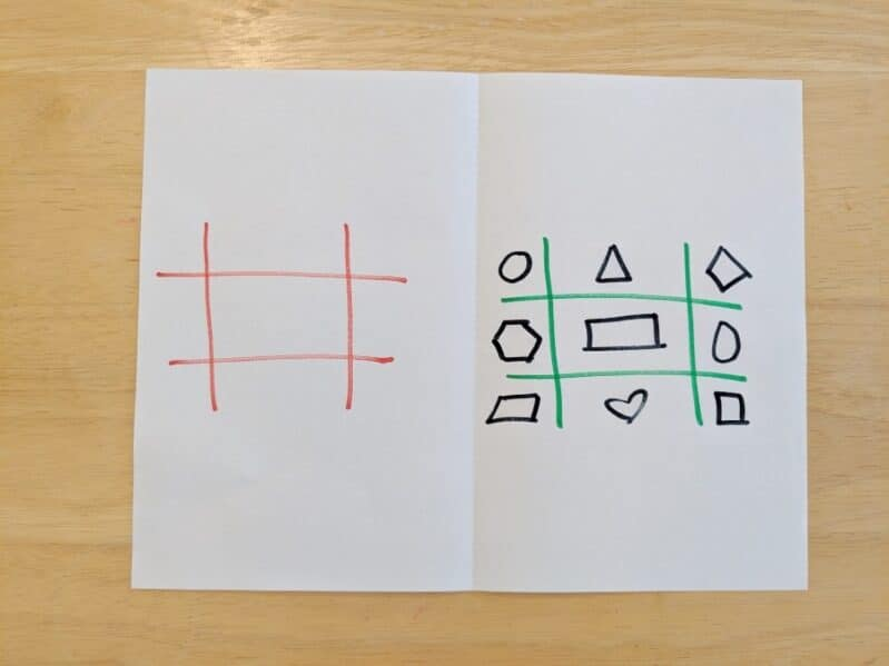 Add a learning twist to your next tic-tac-toe activity!