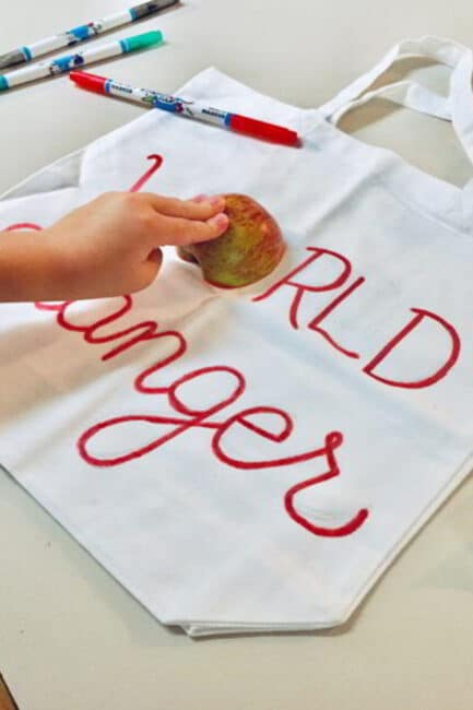 Give an apple to the teacher - in a whole new way!