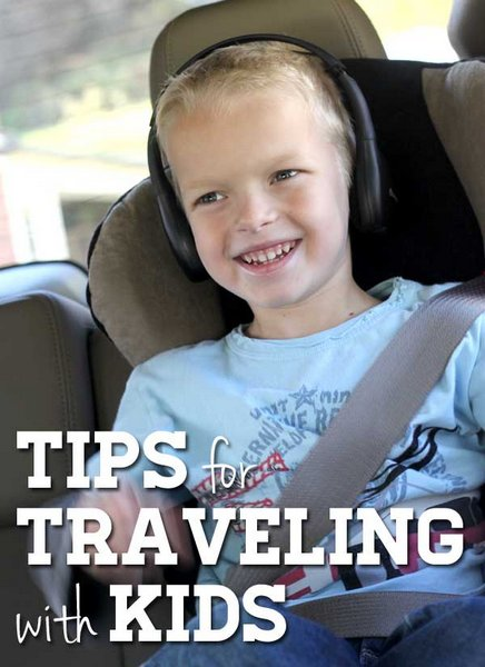 Tips for Traveling with Kids - great for the holiday trips coming up!