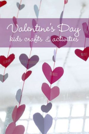 Lots of Valentine's Day Crafts & Activities for Kids