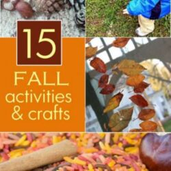 15 Fall Crafts and Activities- Hands On As We Grow