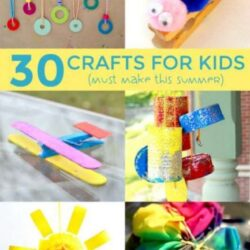 30 Summer Crafts- Hands On As We Grow