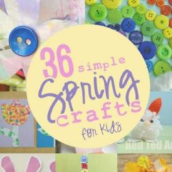 36 Spring Crafts- Hands On As We Grow