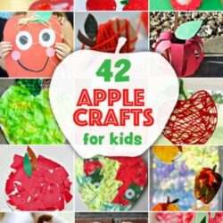 42 Apple Crafts- Hands On As We Grow