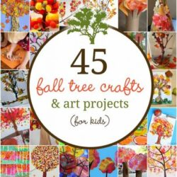 45 Fall Tree Crafts- Hands On As We Grow