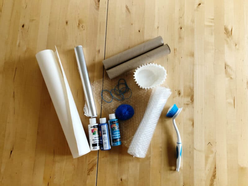 Get creative with just a few crafting supplies from your hands-on activity supply closet!