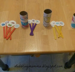 Toilet Paper Activity to Learn Seasons from Dabbling Momma