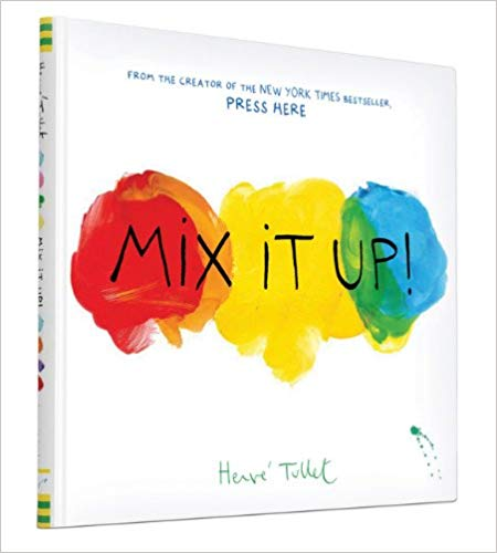 Mix It Up! An interactive Book for learning colors.