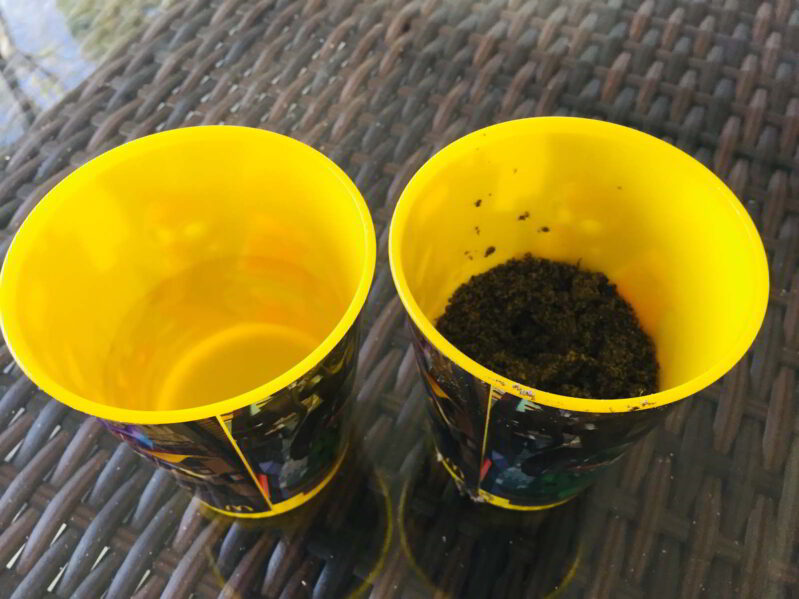 All you need is a little dirt and some water for an easy earth science experiment for kids!
