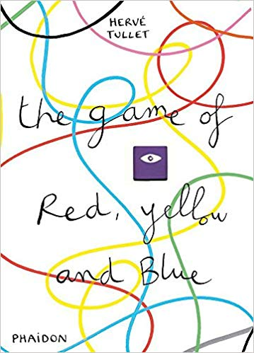 The Game of Red, Yellow & Blue. Interactive book to learn colors.
