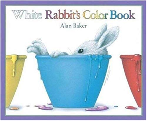 White Rabbit's Color Book. Super cute book to help learn colors.