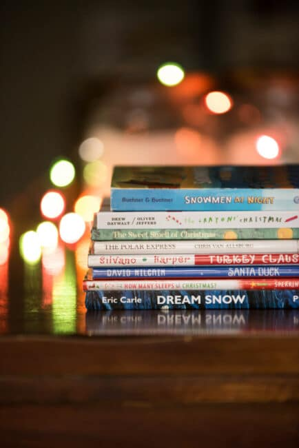 Grab one of these fun Christmas picture books then snuggle up and read together!