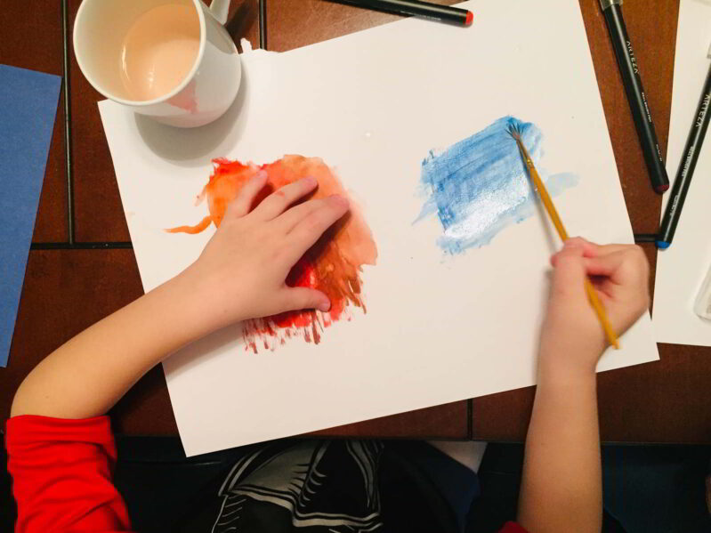 This simple President's Day preschool art activity is perfect to learn about history!