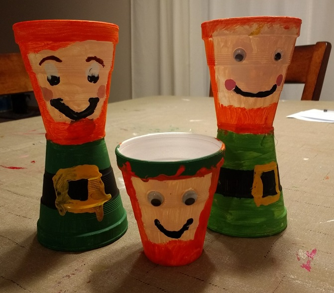 Our leprechaun craft for St. Patrick's Day was so fun and simple!