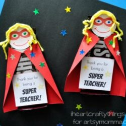 Artsy Momma- Superhero Chocolate