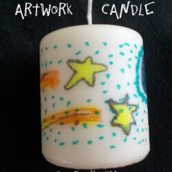 Come Together Kids- Decorated Candle