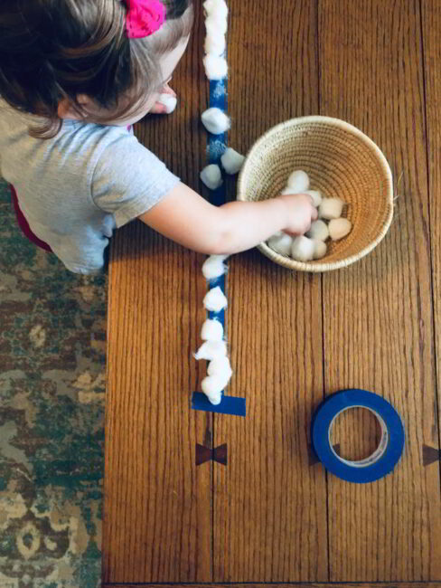 Try a fun fine motor activity with a few simple supplies!