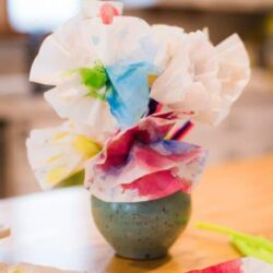 Hands On As We Grow- Coffee Filter Flowers