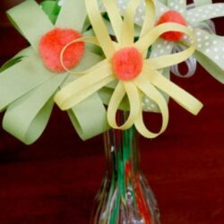 Hands On As We Grow- Ribbon Flowers