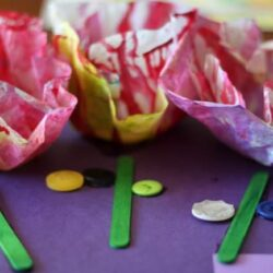 Hands On As We Grow- Starched Coffee Filter Flowers