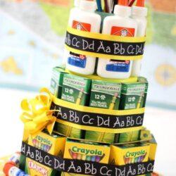 HomeTalk- School Supply Cake
