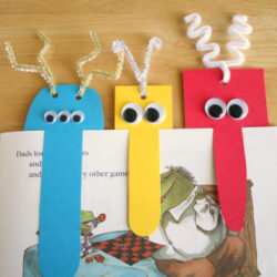 Make and Takes- Monster Bookmark