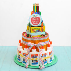 The Craft Patch- School Supply Cake