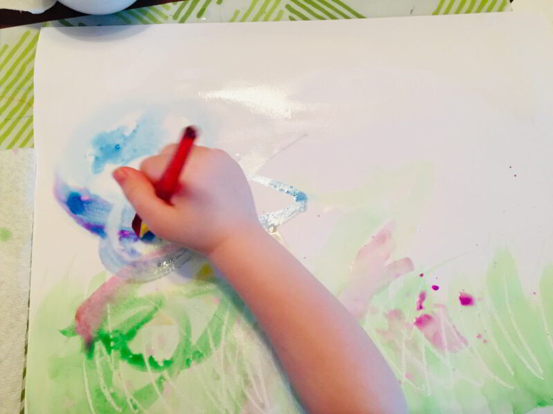 Watercolor wash technique for kids to learn -- 5 of them!