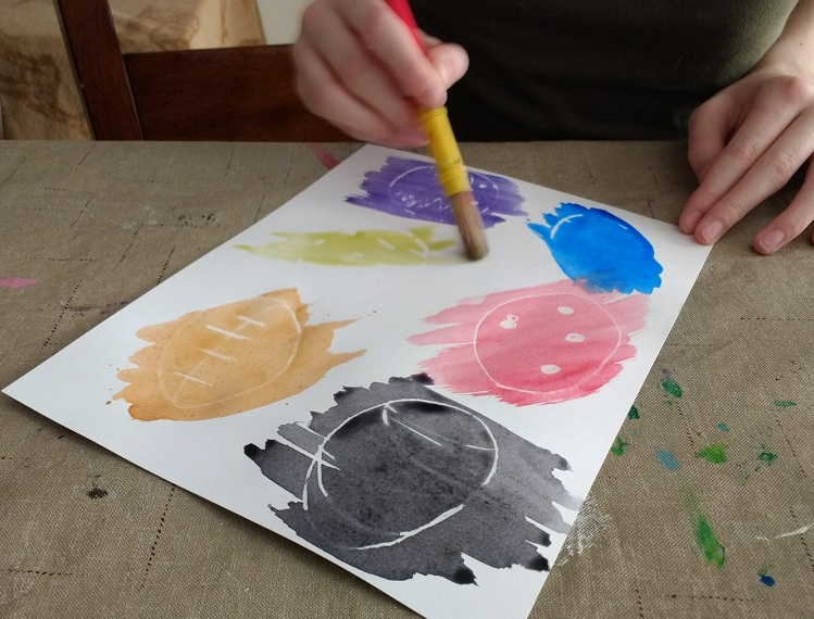 Decorate for Easter with a creative art activity for kids