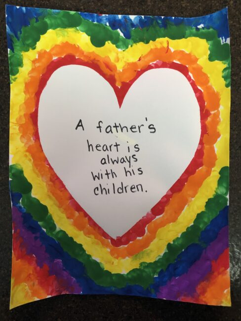 homemade card meant for Mom, but can be for Father's Day too.