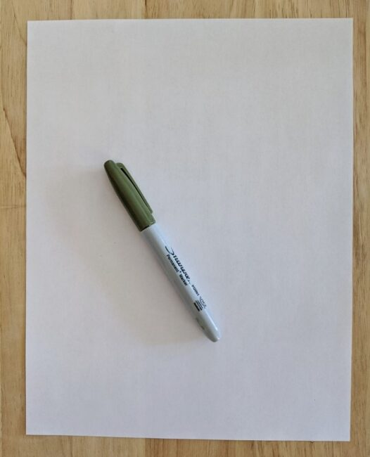 DIY a fun learning game with just a pen and paper!