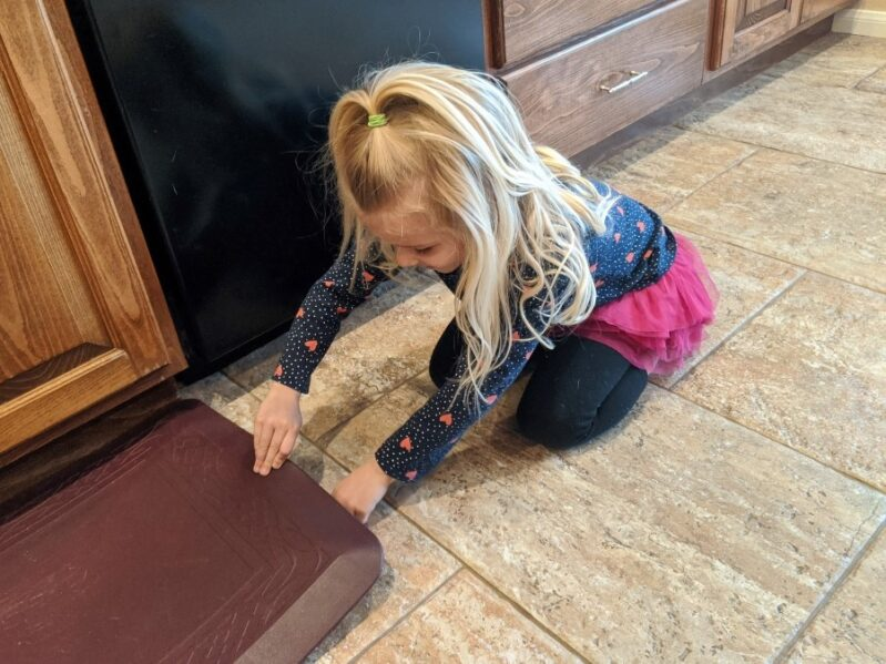 A fun way for kids to learn to count money -- Hide coins around the house to make a dollar