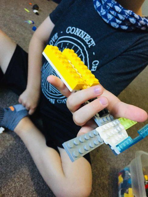 Build with blocks blindfolded
