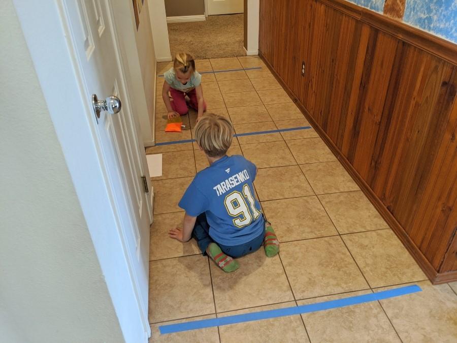 Indoor Hall Hockey Push