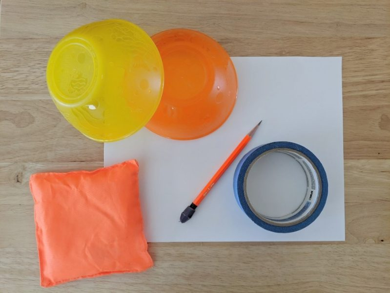 Supplies needed for indoor hockey activity