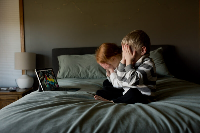 play the what's missing game over facetime or skype - a fun game for kids to play when you can't get together in person