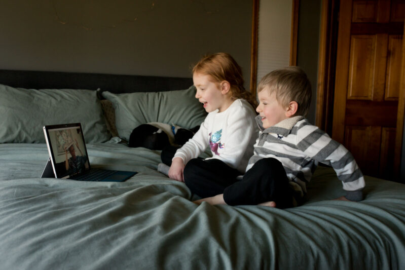 games to play with kids over facetime or skype