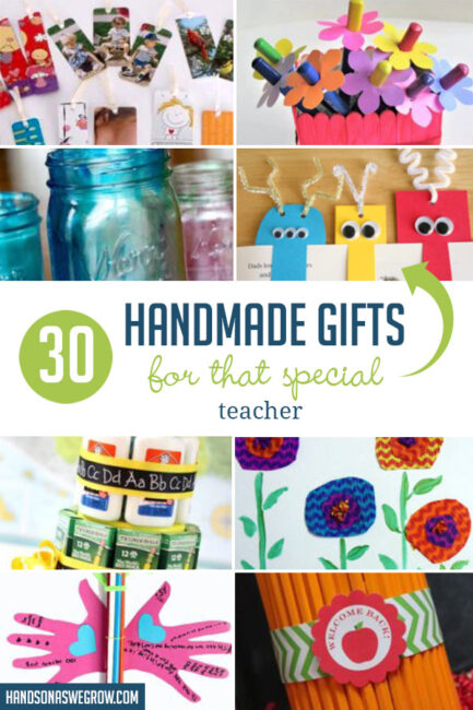 Let's show our gratitude for all they've done to help our kids with one of these practical teacher appreciation gifts kids can make.
