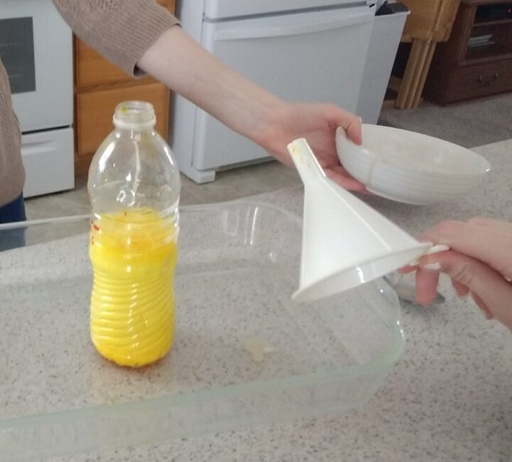 Remove the funnel QUICKLY