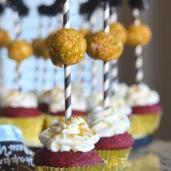 Ball Dropping Cupcakes - Mooshu Jenne