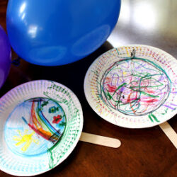 Balloon Badminton - Juggling with Kids