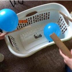 Crazy Fun Balloon Activity Race - Hands On As We Grow
