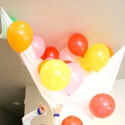 DIY Balloon Drop - It's Always Autumn