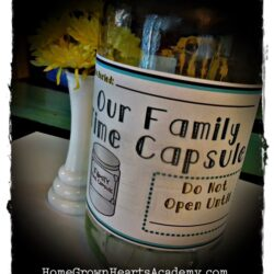 Family Time Capsule - Home Grown Hearts Academy